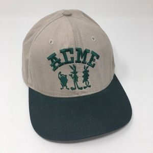 ACME Warner Bros. Snap Back Hat O/S Tan/Green